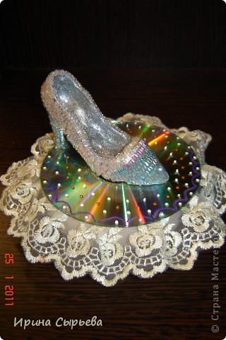 """В детском саду был конкурс по теме """"Золушка"""".   Эта туфелька была сделана для него. фото 2"""