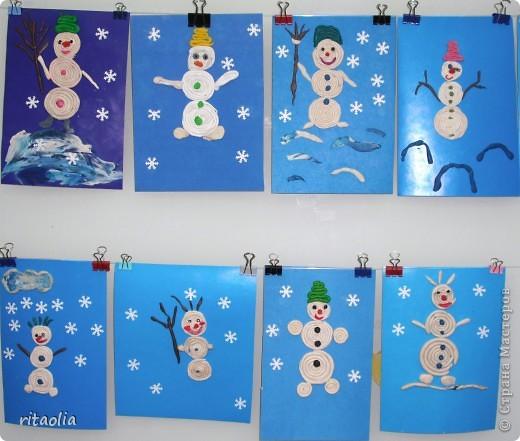 """""""Снеговик"""" - одно из старых названий января, говорящих само за себя. На этом занятии дети узнали историю перевоплощения Снеговика ... фото 2"""