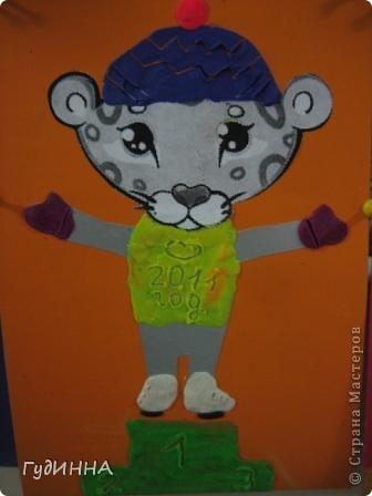 Детёныш снежного барса талисман седьмых спортивных Зимних Азиатских игр 2011 года.   Этот царственный зверь во многих культурных традициях разных стран мира символизирует силу и независимость.   фото 6