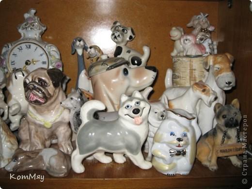А это часть коллекции собак моей дочери фото 4