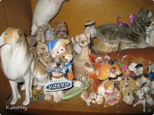 А это часть коллекции собак моей дочери фото 6