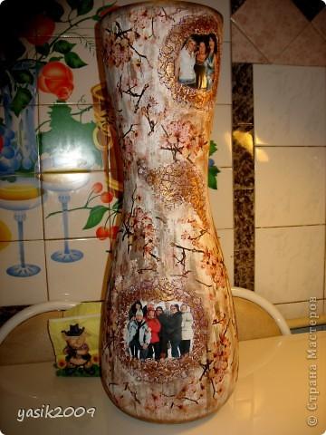 Напольная ваза на Юбилей))) фото 1