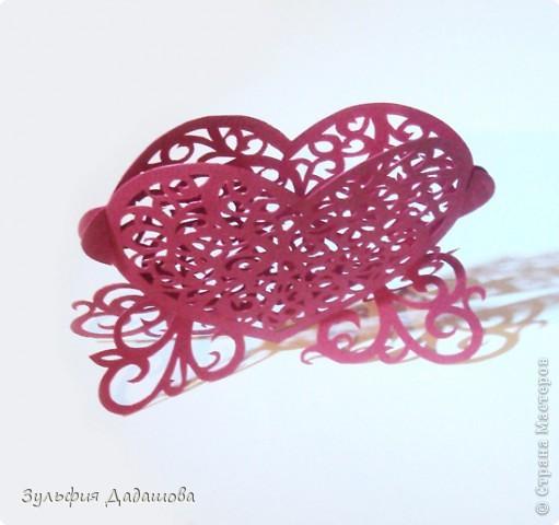 Кружевное сердечко фото 3
