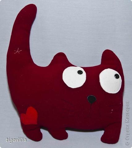 подушка-котик
