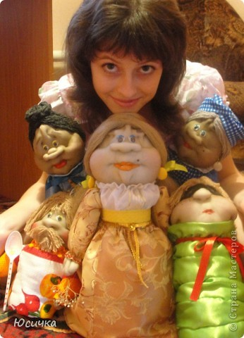 Кукол шила по МК Ликмы=)))  Ликма, спасибо Вам огромное за МК=) фото 1