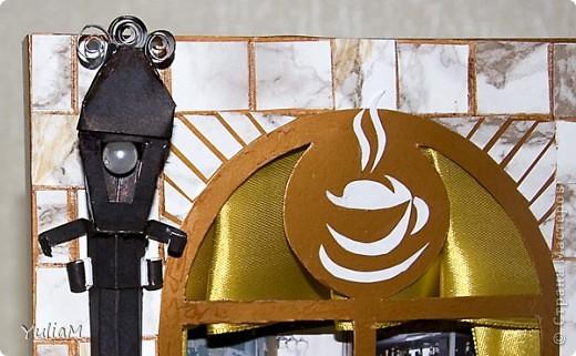 Всем доброго времени суток! Вот такой наборчик придумался для моей подруги - страстной кофеманки. Все предметы декорированы кофе, а главное - пахнут этим бодрящим напитком. фото 10