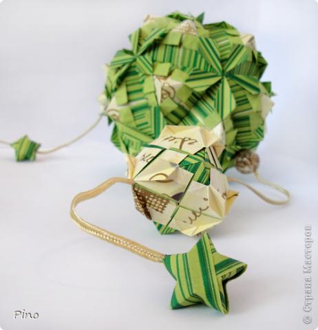 Кусудама Petal globe Фусе фото 1