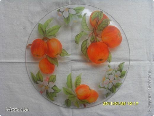 """Блюдо""""Яблоки"""" фото 3"""