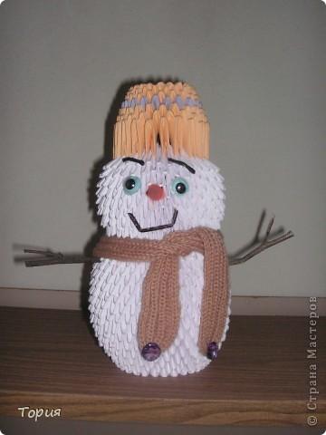 Добрый снеговичок фото 3