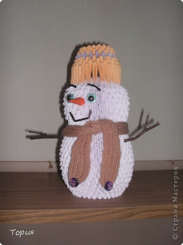 Добрый снеговичок фото 1