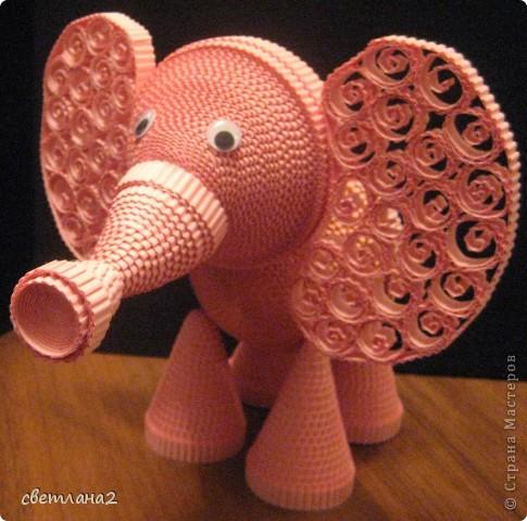 Вот такой слоник у меня получился фото 10