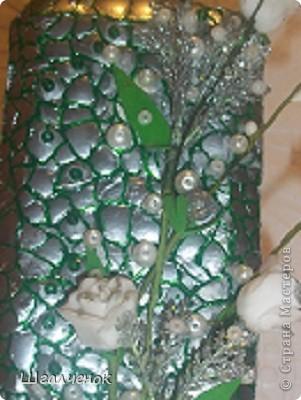 моя  первая работа с яичной скорлупой отправляю вам свой  МК фото 13