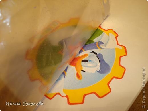 Декупаж детского столика фото 10