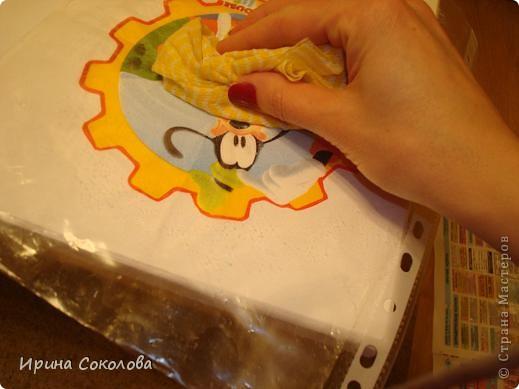 Декупаж детского столика фото 9
