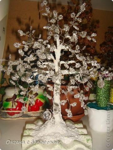 Снежное деревце