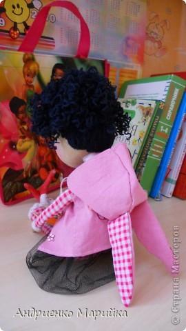 Примитивная кукла ароматизирована Лавандой. Прочитала что Лаванда борется с микробами..по этому в период гриппа сделала именно этот аромат. Ароматная вата вложена в сердечко)) фото 3