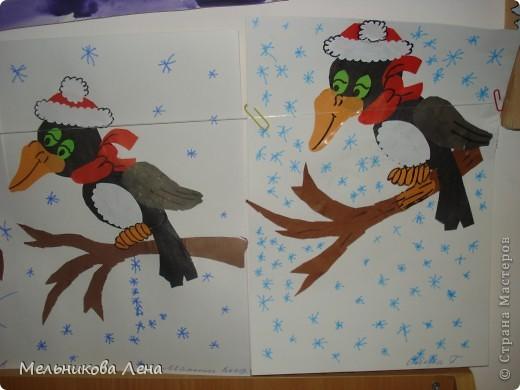 Птицы зимы-дятел фото 1