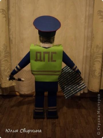 Инспектор ГИБДД-Придорожный Светофор Перекрёстокович. фото 2