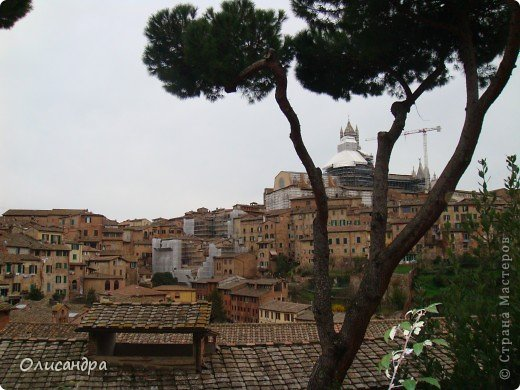 """Сиена- город в Италии... ,не похожий ни на один другой, который я когда-либо видела. Видимо, потому,что он такой необычный, я  и """"влюбилась"""" ... Возможно, мои фотографии не смогут передать  атмосферу города, но если  путешествуя по Италии, у Вас будет возможность  попасть в него, не отказывайтесь от этого...,несмотря на то ,что посещение Сиены, часто, считается дополнительной экскурсией. фото 3"""
