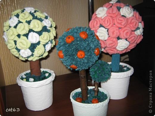 Вот и я вырастила свой садик, вдохновленная работами мастериц Страны Мастеров.