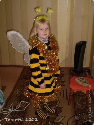 вот какая пчёлка была на новом году! фото 1