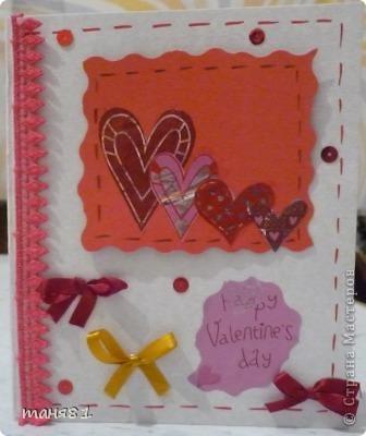 Валентинки делали вместе с моими девочками. Эта моя. фото 1