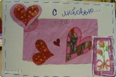 Валентинки делали вместе с моими девочками. Эта моя. фото 3