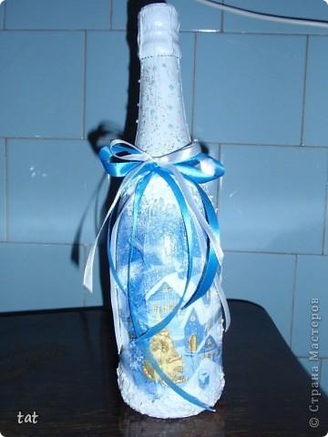 Новогодняя бутылочка фото 2