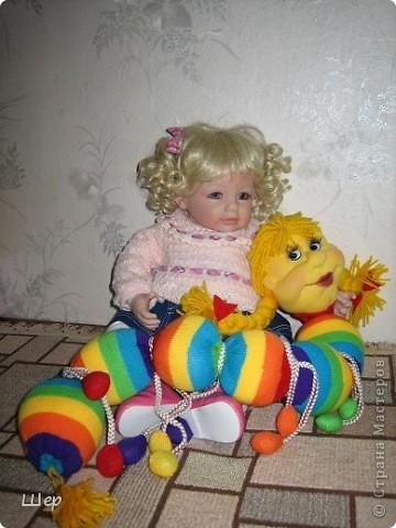 Привет! Я - гусеничка Маруся!Это я родилась, и пока без макияжа. фото 7
