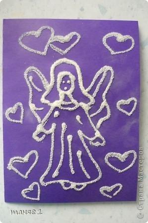 Вспомнили свои любимые насыпушки. Это Полинина(7 лет) валентинка. фото 1