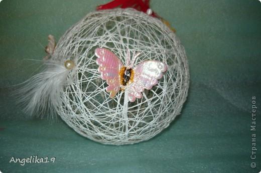 Делаю шар на подарок, ещё не совсем готов.. Жаль другие не сфоткала...   фото 2