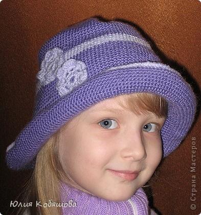 Летняя шапочка.  фото 4