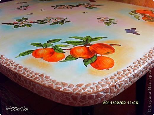 """МК """"Столик для чаепития"""" фото 13"""