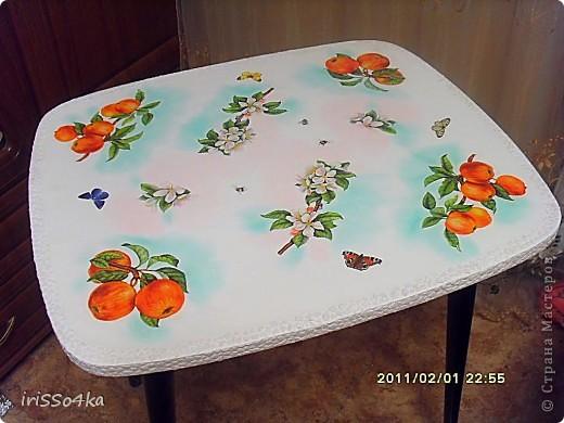 """МК """"Столик для чаепития"""" фото 7"""