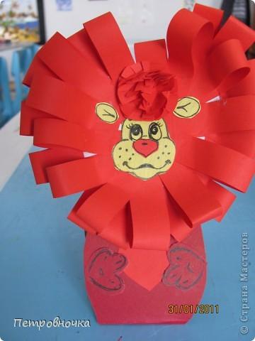 Три веселых львенка благодаря МК в стране мастеров. Мы пошли дальше и создали гривы из других материалов более доступных детям.  фото 4