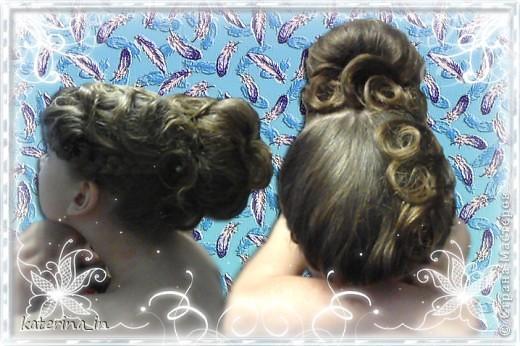 Продолжаю делиться идеями причёсок