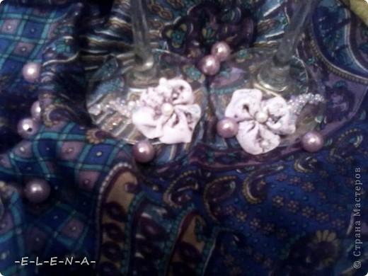 "Бокалы ""Лунные цветы"" фото 2"