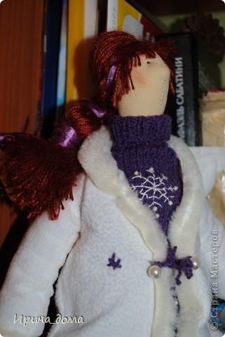 К праздникам шила и дарила кукол, вам судить как получились, но одариваемые остались довольны :)    На Новый год малышам-погодкам (девочке и мальчику) подарила зайчишек. фото 5