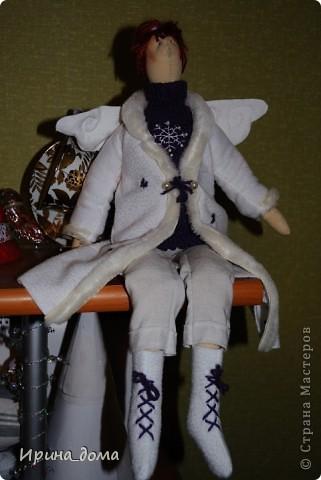 К праздникам шила и дарила кукол, вам судить как получились, но одариваемые остались довольны :)    На Новый год малышам-погодкам (девочке и мальчику) подарила зайчишек. фото 4