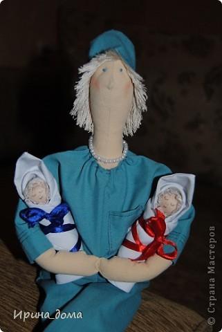 К праздникам шила и дарила кукол, вам судить как получились, но одариваемые остались довольны :)    На Новый год малышам-погодкам (девочке и мальчику) подарила зайчишек. фото 7