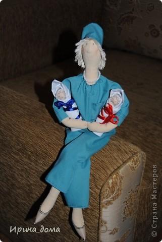 К праздникам шила и дарила кукол, вам судить как получились, но одариваемые остались довольны :)    На Новый год малышам-погодкам (девочке и мальчику) подарила зайчишек. фото 8