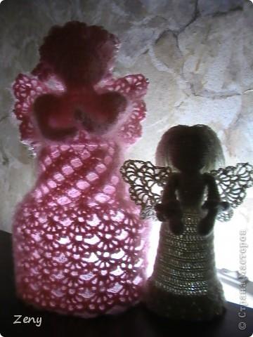 Добрый вечер!!!! Сегодня я к Вам с ангелочками. Увидела здесь http://stranamasterov.ru/node/140676?c=favorite   И не удержалась.  Спасибо большое Galy!!!!!   фото 11