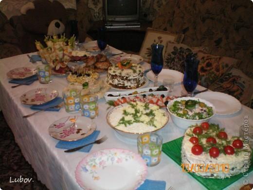 Оформление праздничного стола. фото 2