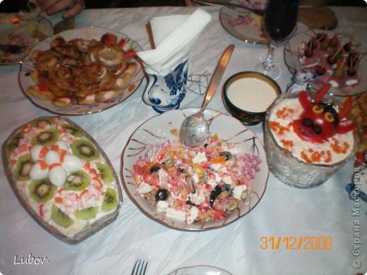 Оформление праздничного стола. фото 5