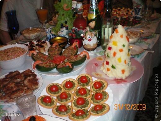 Оформление праздничного стола. фото 6