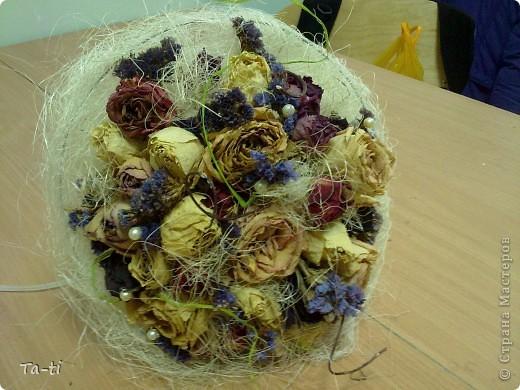 Букет своими руками из цветов на свадьбу