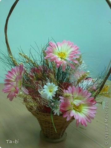 букет из сухих роз фото 2