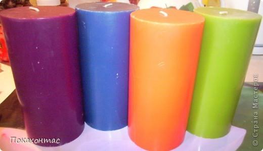 Вот такие у меня получились свечи фото 3