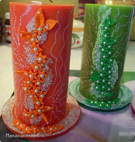 Вот такие у меня получились свечи фото 5