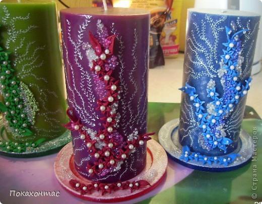 Вот такие у меня получились свечи фото 6